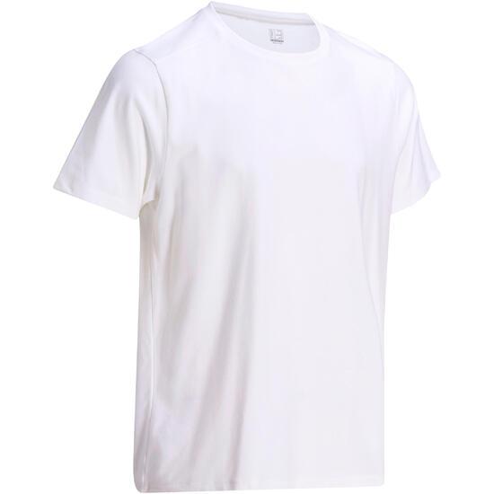 Heren T-shirt voor gym en pilates, regular fit - 1075361