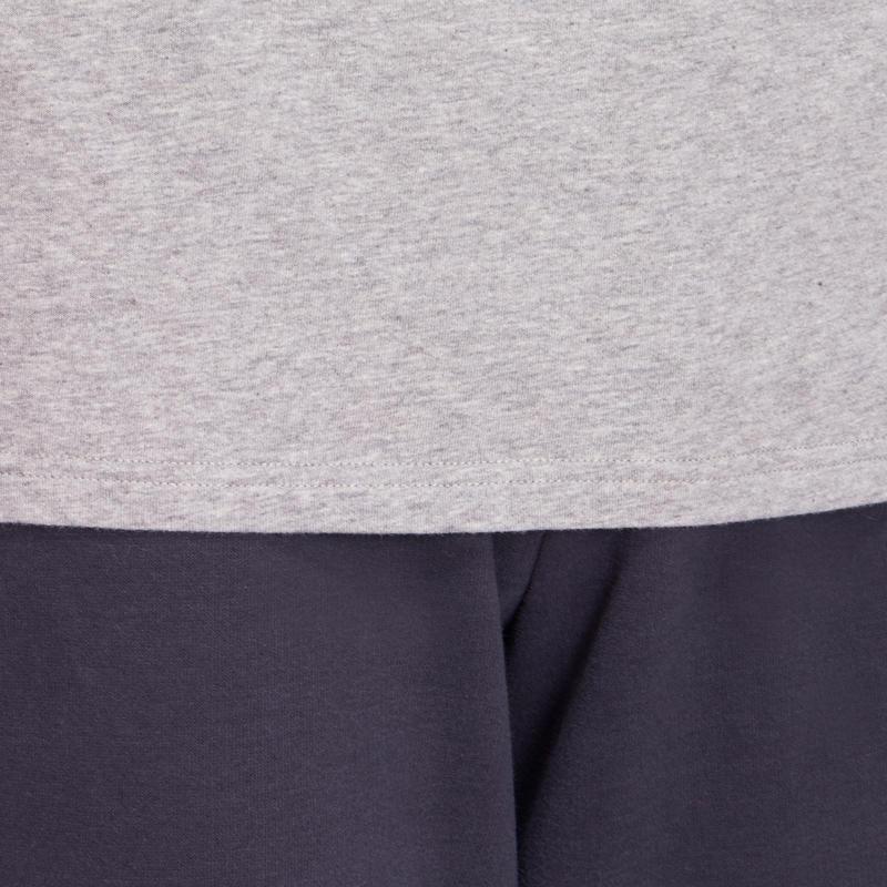 T-Shirt 100 manches longues Gym & Pilates homme gris
