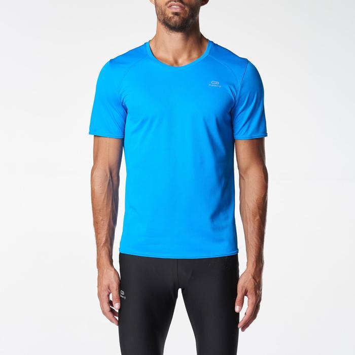 Heren T-shirt Run Dry voor hardlopen blauw