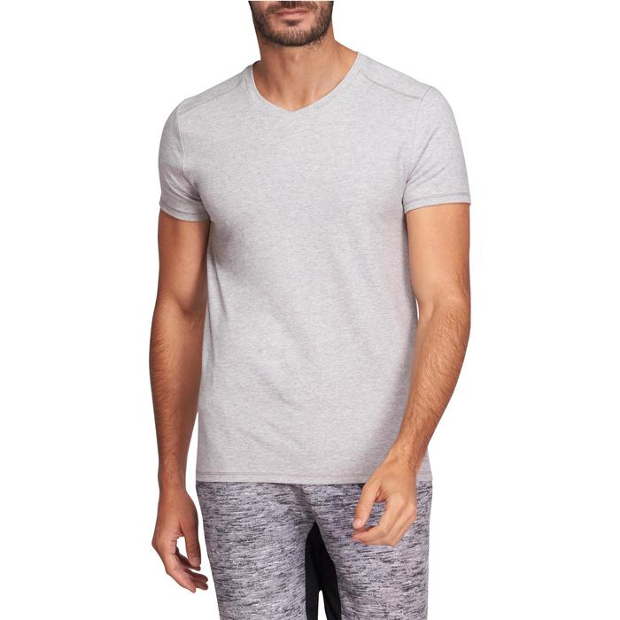 T-Shirt slim Gym & Pilates homme - 1075468