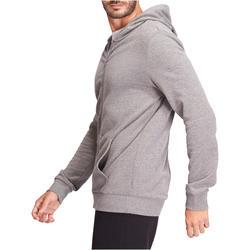 Hoodie voor fitness en pilates heren - 1075532