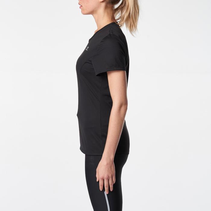 Áo thun chạy bộ Run Dry cho nữ - Đen