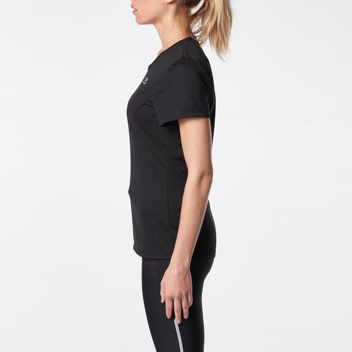 Laufshirt kurzarm Run Dry Damen schwarz