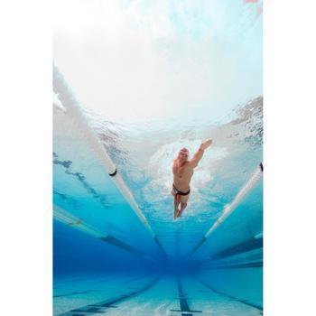 Lunettes de natation B-FIT  noir argent miroir - 1075616