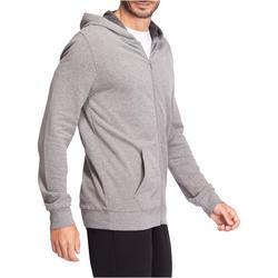 Hoodie voor fitness en pilates heren - 1075628