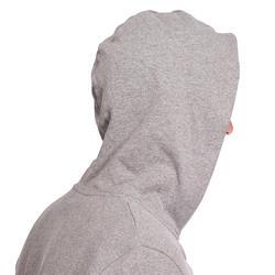 Hoodie voor fitness en pilates heren - 1075629