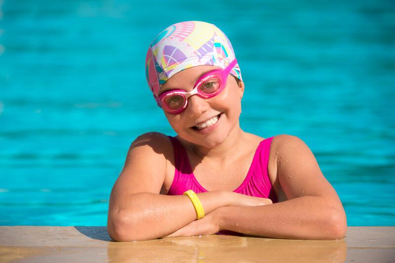 Lentes de natación XBASE Talla S rosados