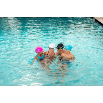 Zwembril 100 Easydow maat L zwart/groen