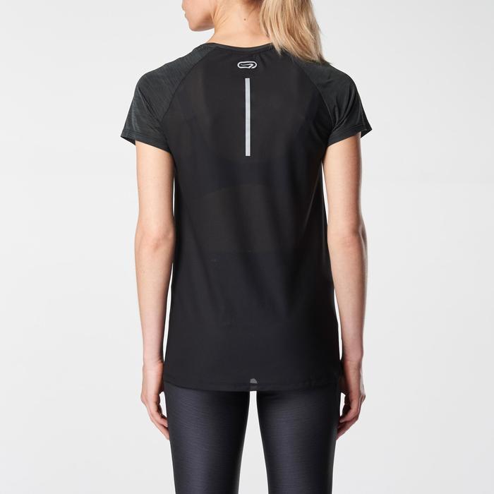 Laufshirt kurzarm Run Dry+ Run Light Damen schwarz
