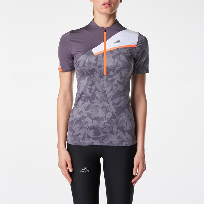 Tee shirt manches courtes perf trail running femme - 1075848