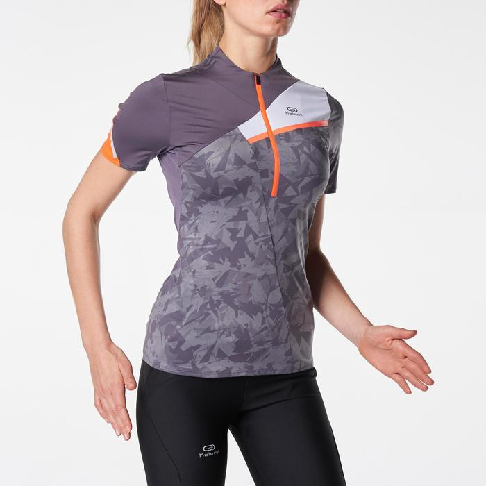 Tee shirt manches courtes perf trail running femme - 1075867