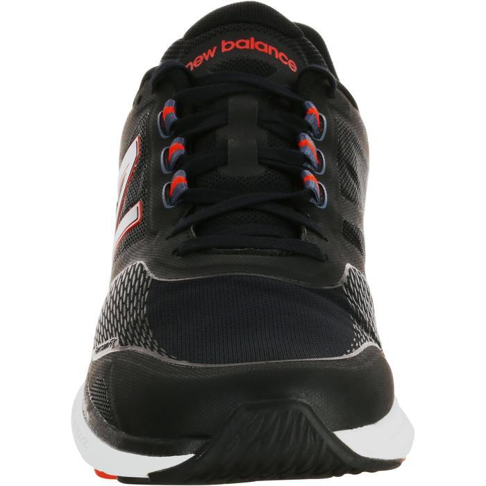 Chaussures marche sportive homme M1865 noir / rouge - 1075937