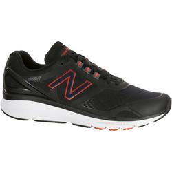 Chaussures marche sportive homme M1865 noir / rouge