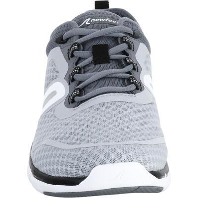 حذاء مشي رجالي SOFT 540 نسيج شبكي - رمادي