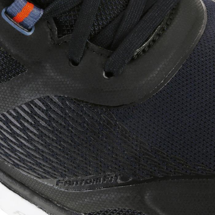 Chaussures marche sportive homme M1865 noir / rouge - 1076007
