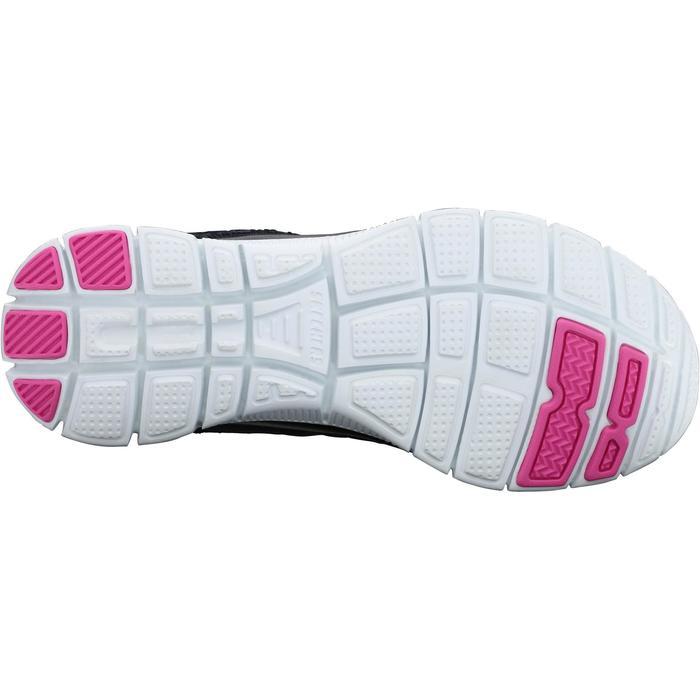Chaussures marche sportive femme Flex SimplySweet noir / rose - 1076009