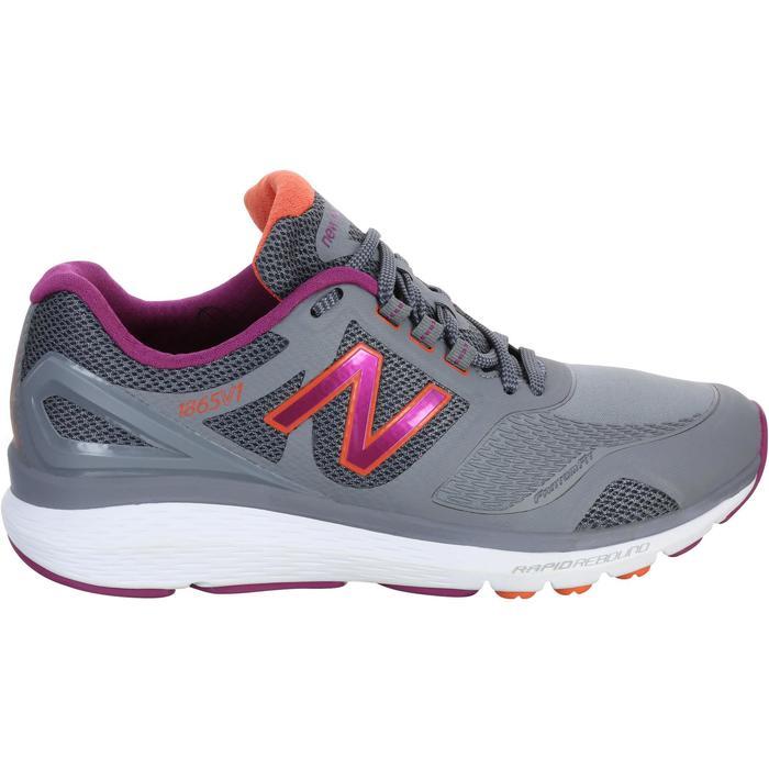 Chaussures marche sportive femme NB 1865 gris - 1076016