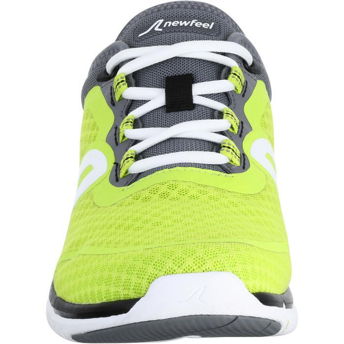 Herensneakers Soft 540 geel/grijs