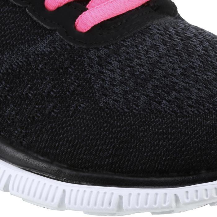 Chaussures marche sportive femme Flex SimplySweet noir / rose - 1076039