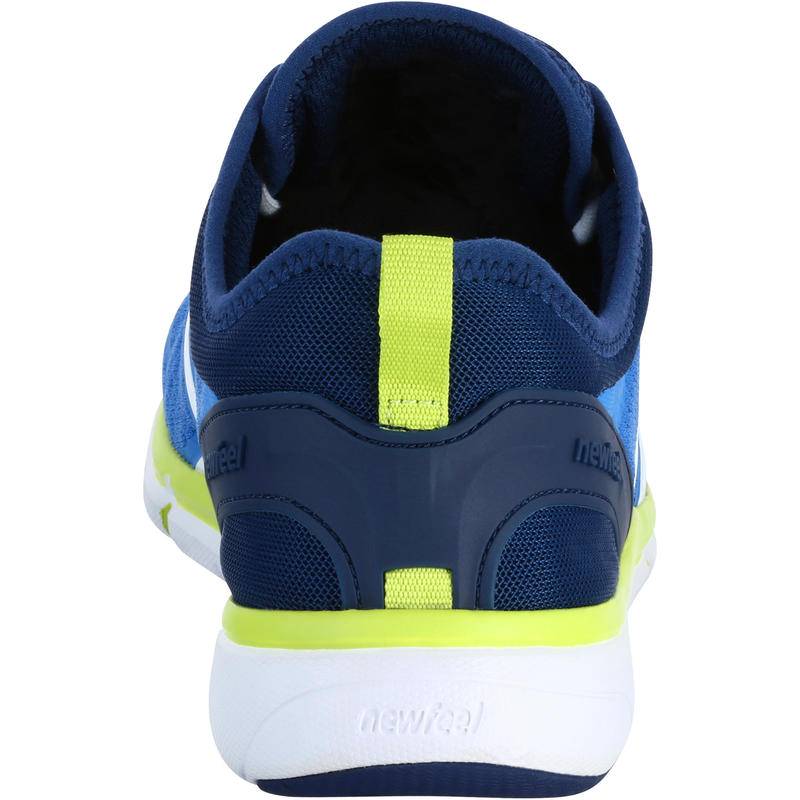 Soft 540 Mesh Men's Fitness Walking Shoes - Blue/Yellow