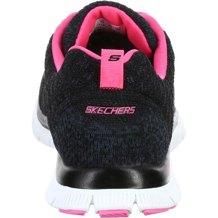 Chaussures marche sportive femme Flex SimplySweet noir / rose - 1076068