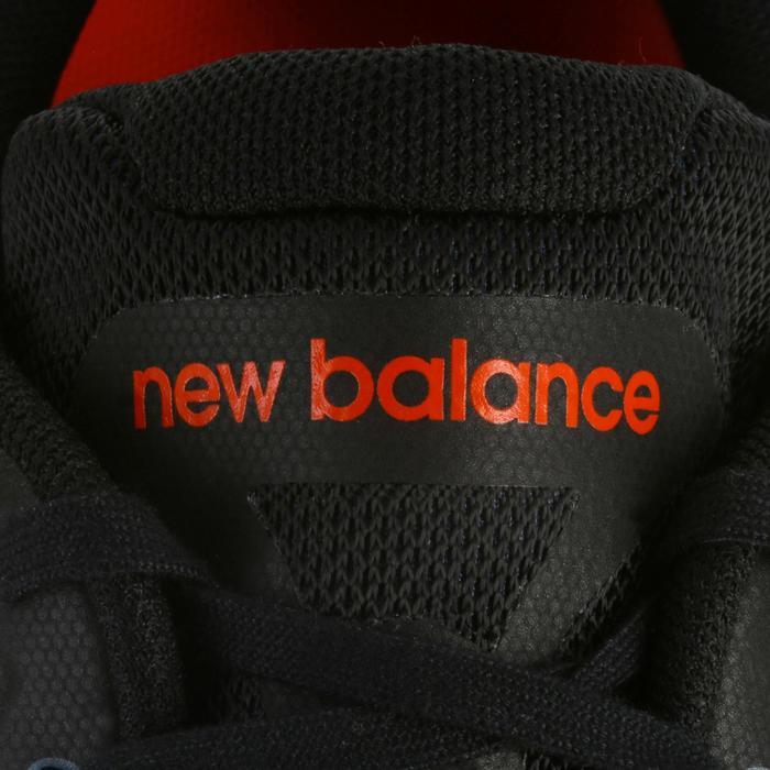 Chaussures marche sportive homme M1865 noir / rouge - 1076079