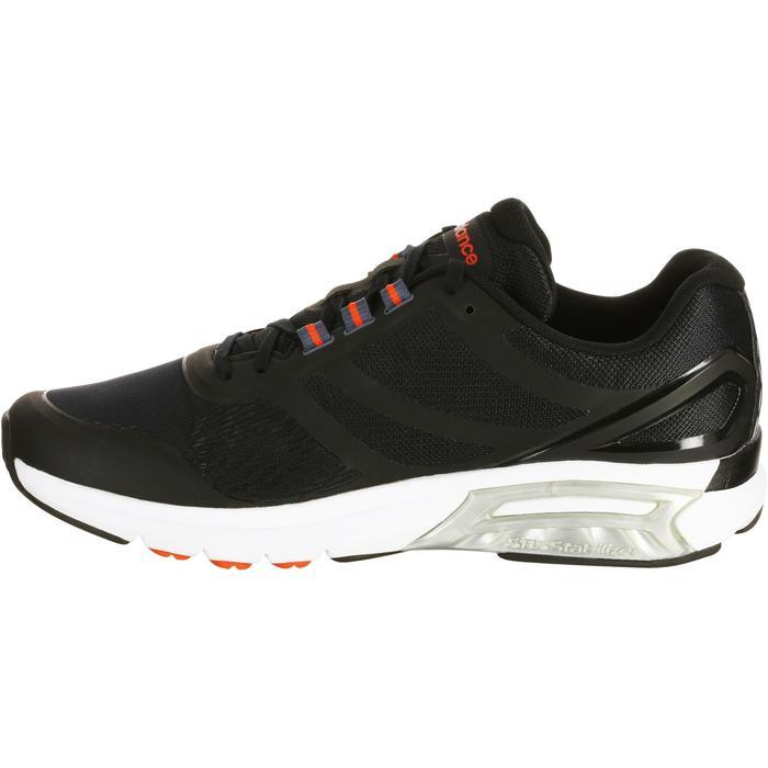 Chaussures marche sportive homme M1865 noir / rouge - 1076093