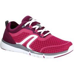 Zapatillas de marcha deportiva para mujer Soft 540 mesh rosa / violeta