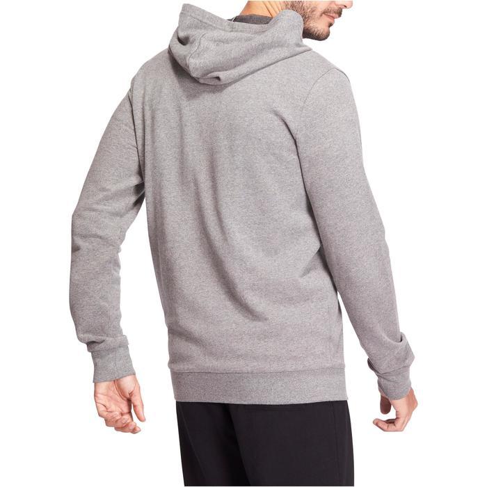 Hoodie voor fitness en pilates heren - 1076191