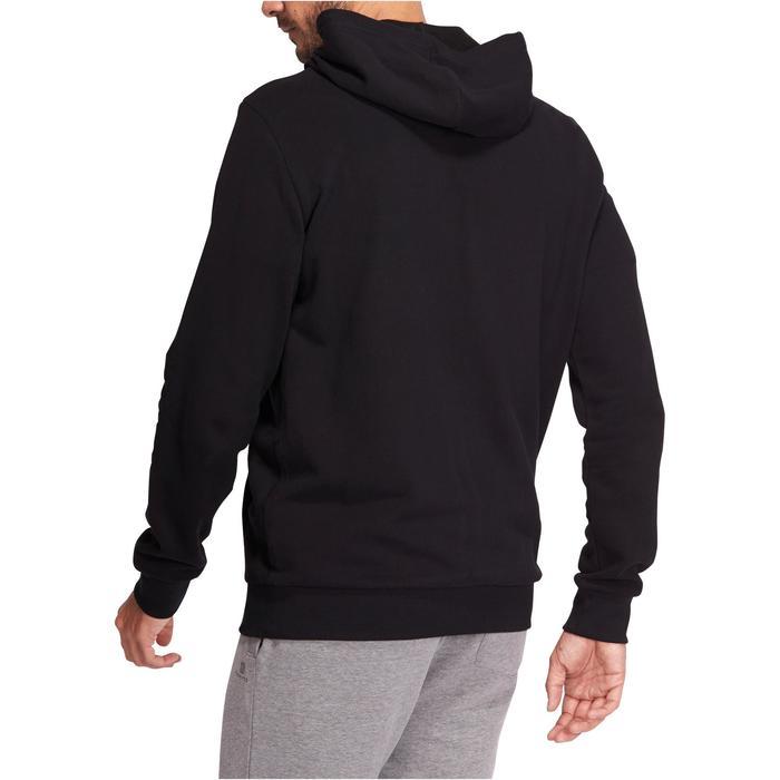 Hoodie voor fitness en pilates heren - 1076208