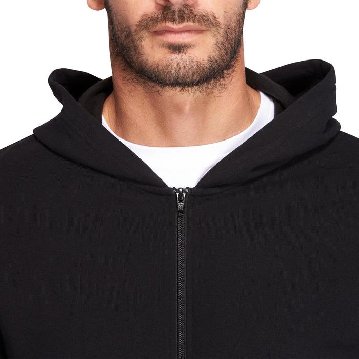 Veste capuche Gym & Pilates homme noir