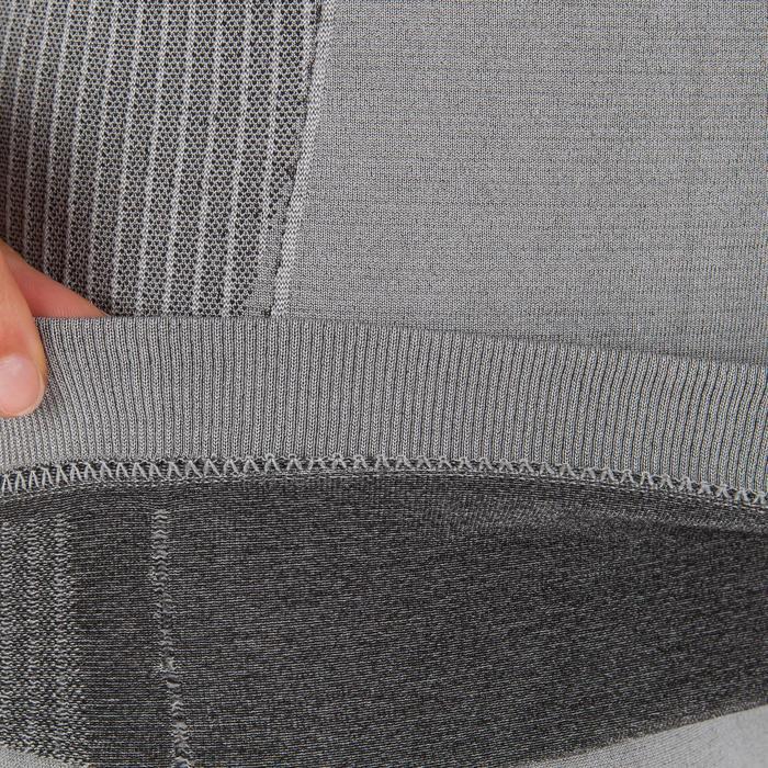 Ondershirt voor dames voor wedstrijdzeilen Race grijs