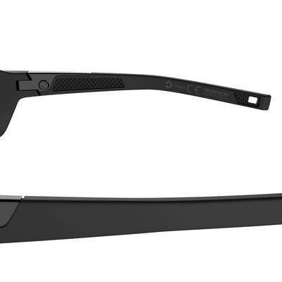 טיול רגלי 200 משקפי שמש לטיול רגלי מבוגרים קטגוריה 3 - שחור