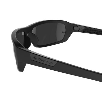 Category 3 hiking Sunglasses MH 510 - Black
