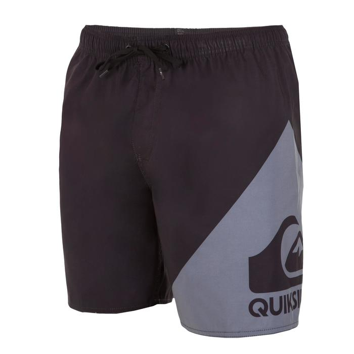 Boardshort court QUIKSILVER Wave Black grey - 1076671