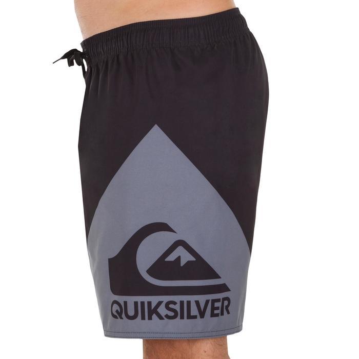 Boardshort court QUIKSILVER Wave Black grey - 1076679