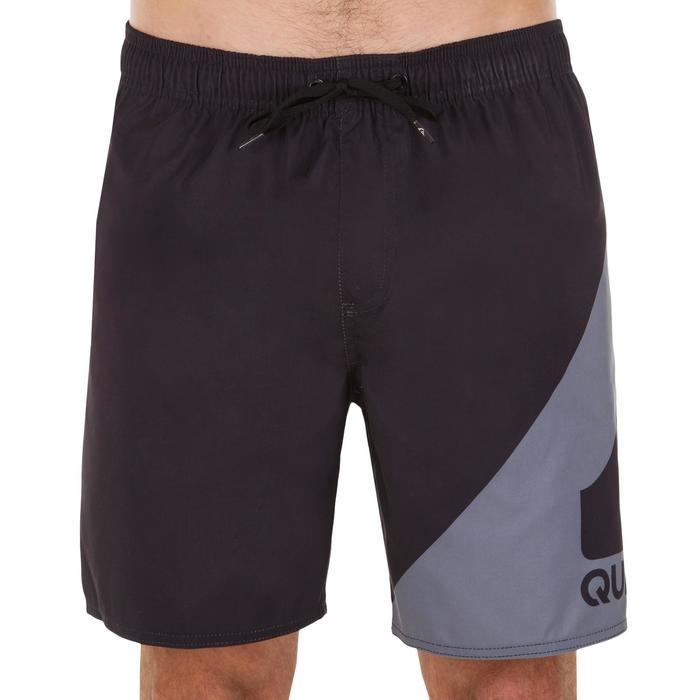 Boardshort court QUIKSILVER Wave Black grey - 1076737