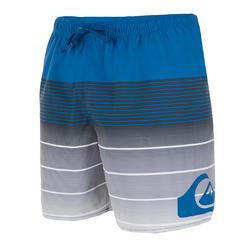 Korte boardshort Quicksilver Division blauw