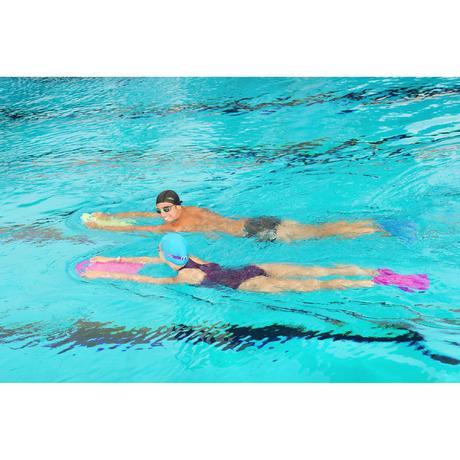 Grande planche a battements natation vert bleu nabaiji for Chaussons de piscine