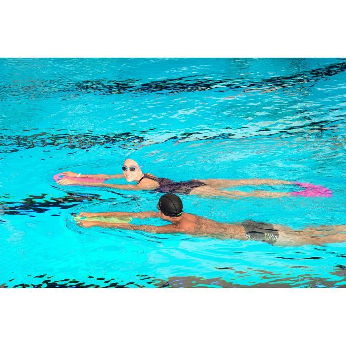 Gorro de natación de tela de punto talla S y L negro