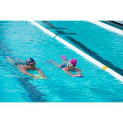 Schwimmflossen 500 Silifins kurz pink
