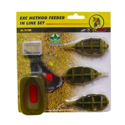 KIT PESCA AL QUIVER EXC METHOD FEEDER IN LINE SET
