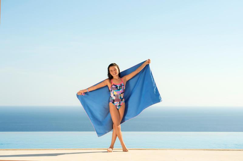 Microfiber towel Small - Blue