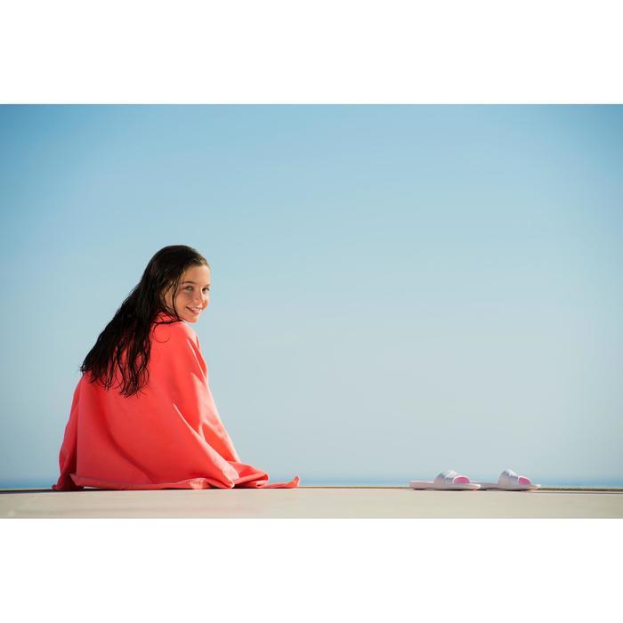 輕便微纖維毛巾L號80 x 130 cm 淺紫色