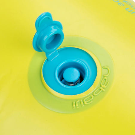 """Inflatable swim ring 92 cm blue """"TROPIC"""" large size with comfort grips"""