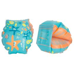Children's Swimming Armbands - Star Print Blue