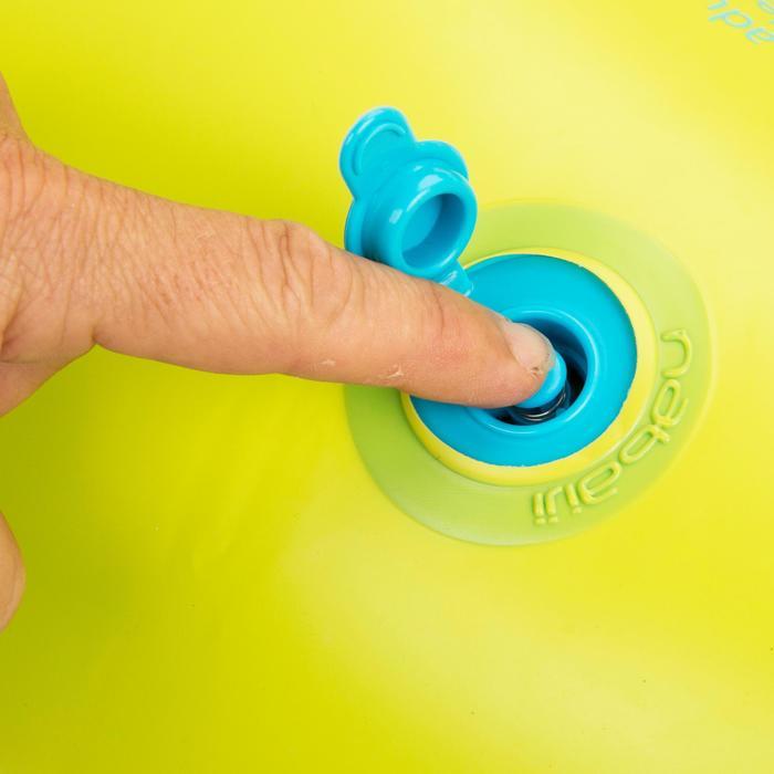 """Bouée gonflable 92 cm bleue """"TROPIC"""" grande taille avec poignées confort - 1077049"""