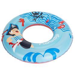 Children's Inflatable Swim Ring 3-6 Years 51 cm - Mermaid Print Blue