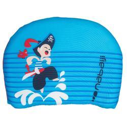 """Planche de natation enfant bleue avec imprimé """"PIRATE"""""""