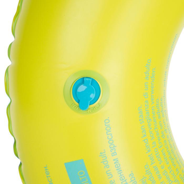 """Bouée gonflable 92 cm bleue """"TROPIC"""" grande taille avec poignées confort - 1077085"""